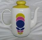 Seltmann Weiden Modernist Bavarian Pop Art Coffee Pot