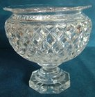 Regency Highly Cut Lead Crystal Punch Bowl