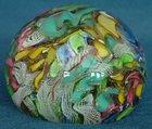A.V.e.M Murano Glass 'Tutti Frutti' or 'Bizzantina' Paperweight