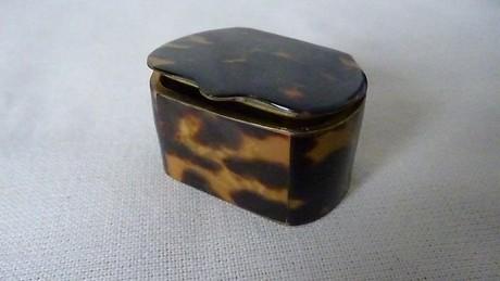 Tortoiseshell Snuff Box