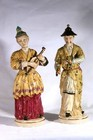 A pair of 20th century Samson Chinese figures