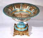 A quite beautiful French porcelain fruit bowl