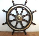 SHIP'S WHEEL: LATE VICTORIAN