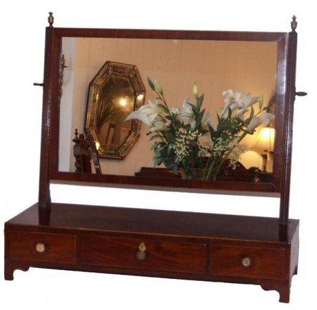 Georgian dressing table mirror