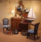 Biedermeir  style burr walnut chest of drawers
