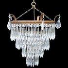 Large Edwardian 4 tier chandelier