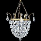 Small Edwardian purse chandelier