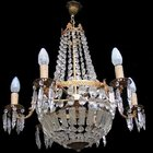 Sac a Perles Chandelier with 6 arms