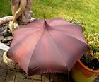 Vintage Pagoda Umbrella Made in England by Penguin
