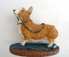 Vintage Crown Staffordshire Fine Art Corgi Dog Figurine
