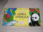 JUNIOR ALPHA ANIMALS  BOARD GAME