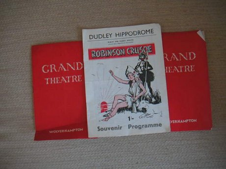 THEATRE PROGRAMMES GRAND WOLVERHAMPTON & DUDLEY HIPPODROME