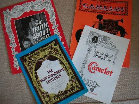 LONDON THEATRE PROGRAMMES THEATRE ROYAL AND HER MAJESTY'S