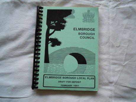 ELMBRIDGE BOROUGH LOCAL PLAN FEBRUARY 1991