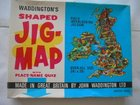 VINTAGE JIG MAP BRITISH ISLES WADDINGTON