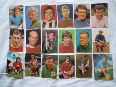 GEORGE BEST & OTHERS POSTCARDS