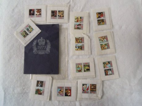 QUEEN'S SILVER JUBILEE 1977 TOTAL STAMP COLLECTION