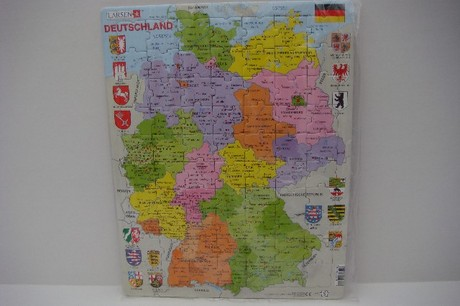 DEUTSCHLAND (GERMANY) Larsen map