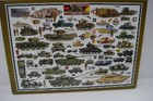 BRITISH ARMOURED FIGHTING VEHICLES Citadel Puzzles 1000 pcs