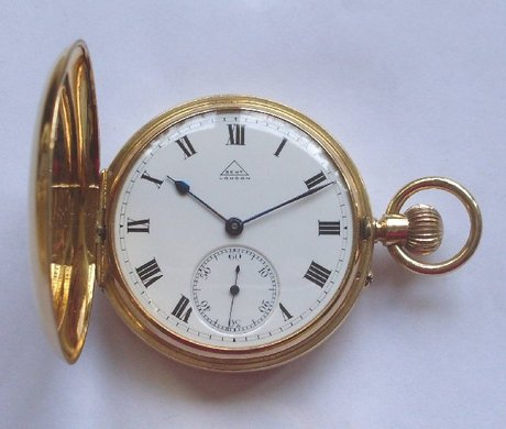 dent 18 carat gold pocket watchmaker to the king