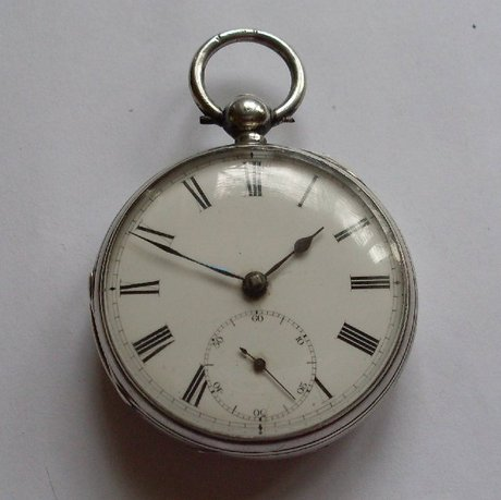 thos giffin silver fusee pocket 33994