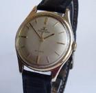 Jaeger LeCoultre men's gold automatic wristwatch.