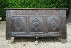 Early Oak Coffer