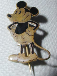 Mickey Mouse Pin Brooch