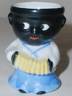 Black Boy Egg Cup