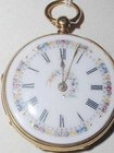 Fusee Gold Pocket Watch