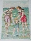 Sea Side Postcard