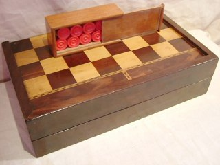 Backgammon & Chess Board Box