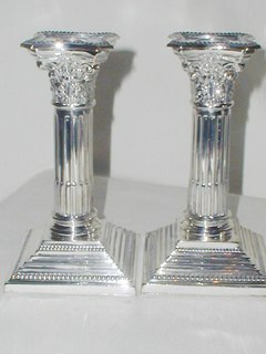 Victorian Candlesticks