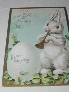 Easter Bunny Post Card