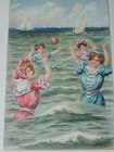 Bathing Belle Postcard