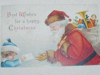 Ellen Clapsaddle Santa Card