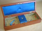 English Inlaid Games Box
