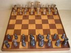 St George Chess Set & Board