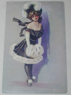 Edwardian Burlesque Post Card