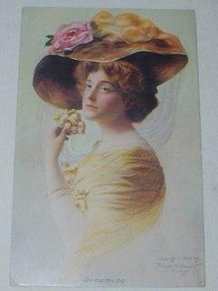 Edwardian Fashion Post Card