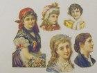 Gypsy & Ladys Victorian Scraps
