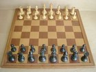 Staunton Chess Set & Board