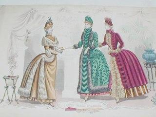 Fashion Plate Print