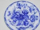 Flow Blue Soup Dish