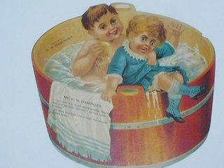Wash Tub Trade Card