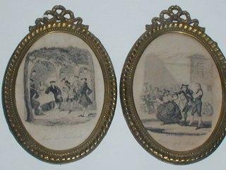 Pair of Engravings