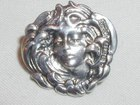 Art Nouveau Button