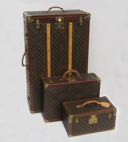 Louis Vuitton Luggage Set -Wardrobe Trunk, Suitcase & Vanity Case