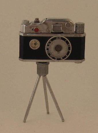 KKW P13449 Japanese Cigar/Cigarette Petrol Lighter  - Modelled As A Camera