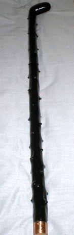 Heavy Irish Blackthorn Walking Stick/Cane